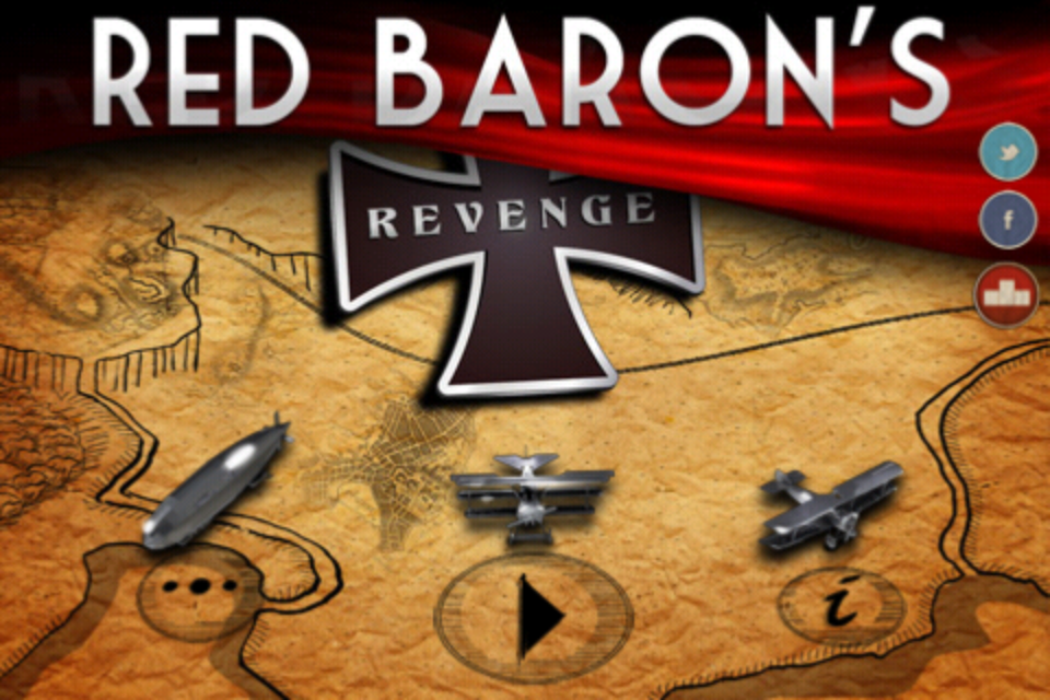 Screenshot Red Baron's Revenge