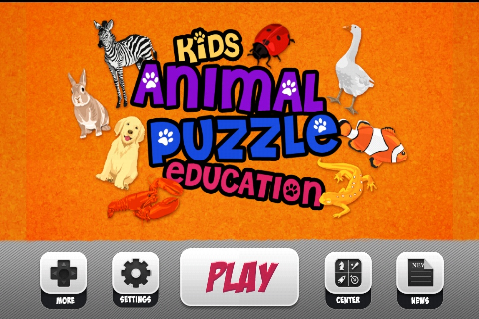 Screenshot Kids Animal Puzzle Education